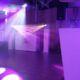 drive-in show uitgebreid, 4 movingheads, inclusief DJ